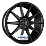 Felgi BORBET Black Rim Polished Matt
