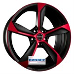 Felgi BORBET Black Red Matt