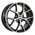 Felgi BBS Volcano-Grey Diamondcut