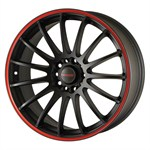 Felgi TENZO-R Black/Red