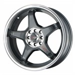 Felgi DRAG WHEELS gun metal machined lip