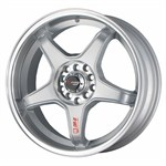 Felgi DRAG WHEELS silver machined lip