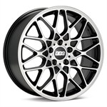 Felgi BBS satin black/diamond cut