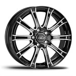 Felgi COM4WHEELS BLACK+POLER